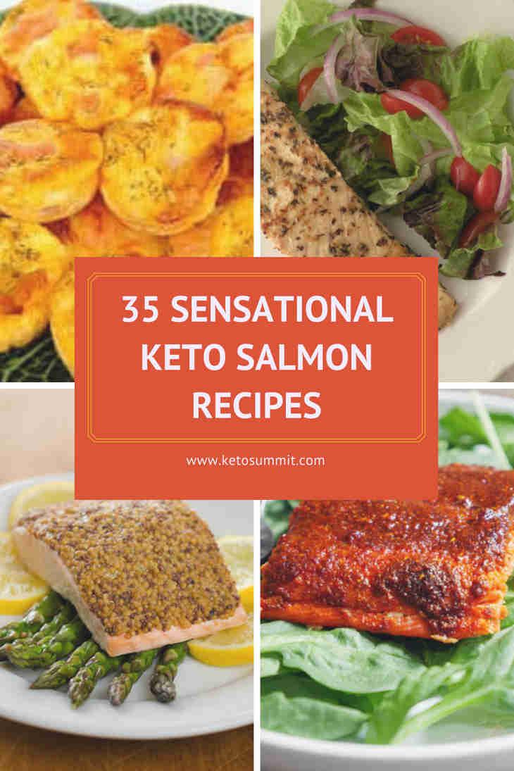 35 Sensational Keto Salmon Recipes https://ketosummit.com/keto-salmon-recipes