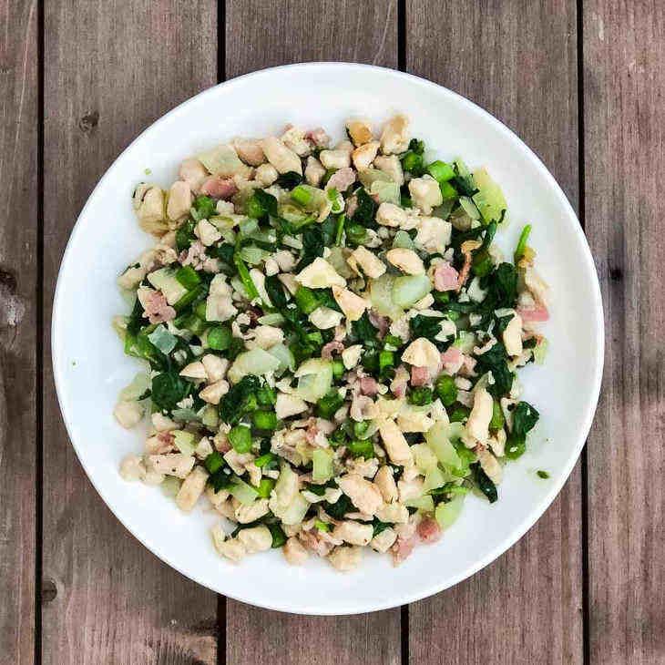 Keto Turkey and Vegetable Skillet Recipe
