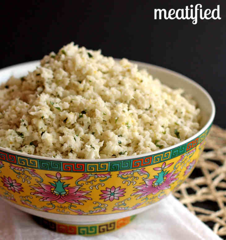 Lime & Coconut Cauliflower Rice