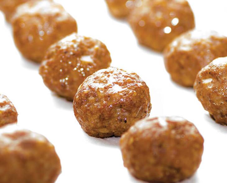 Chorizo Meatballs