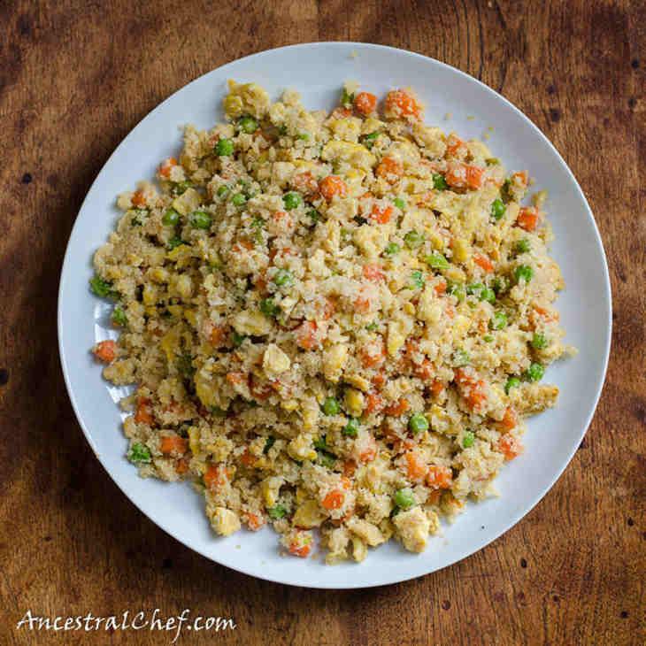 Paleo Chinese Cauliflower Fried Rice