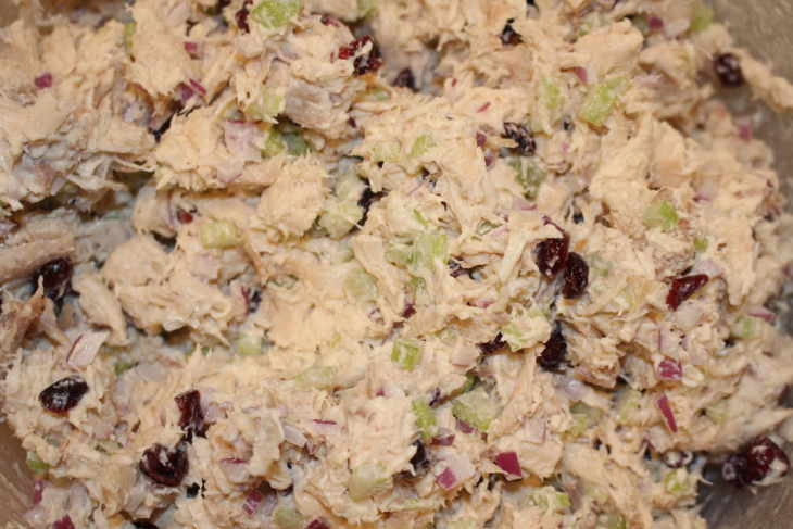 Low Carb Cranberry Chicken Salad