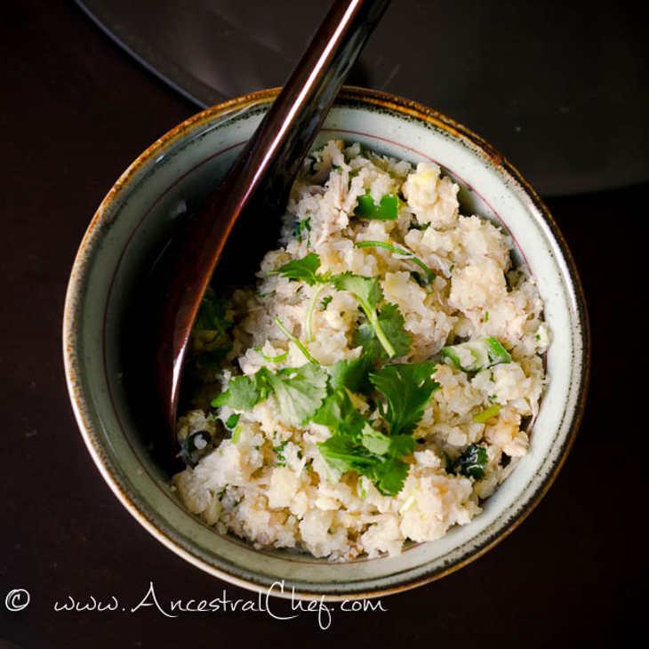 """Paleo Thai Chicken and """"Rice"""""""