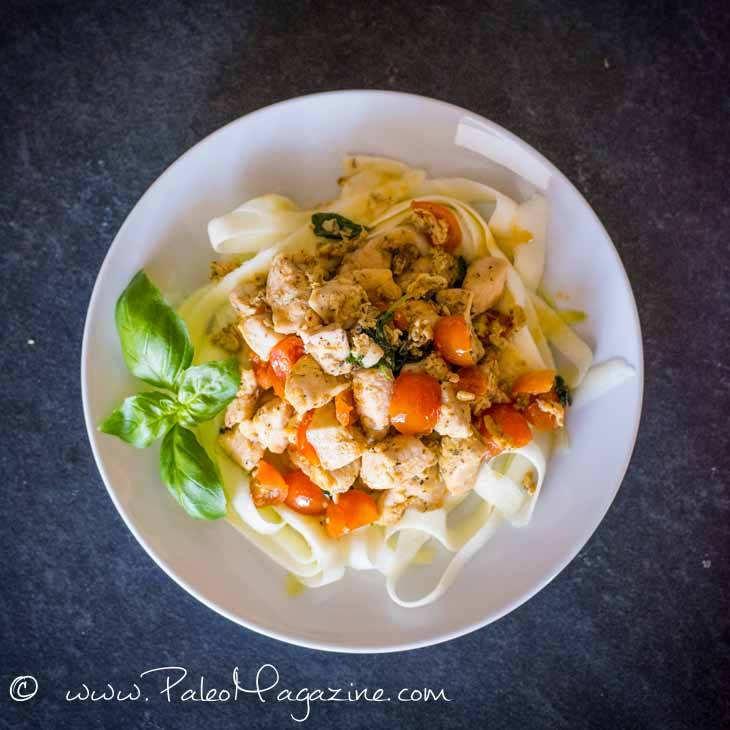 Pan-Fried Tuscan Chicken Pasta Recipe