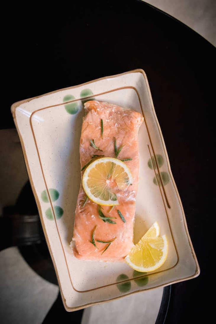 Paleo Baked Rosemary Salmon Recipe