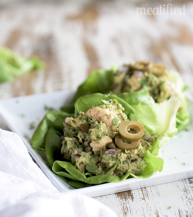 Speedy Salmon Salad