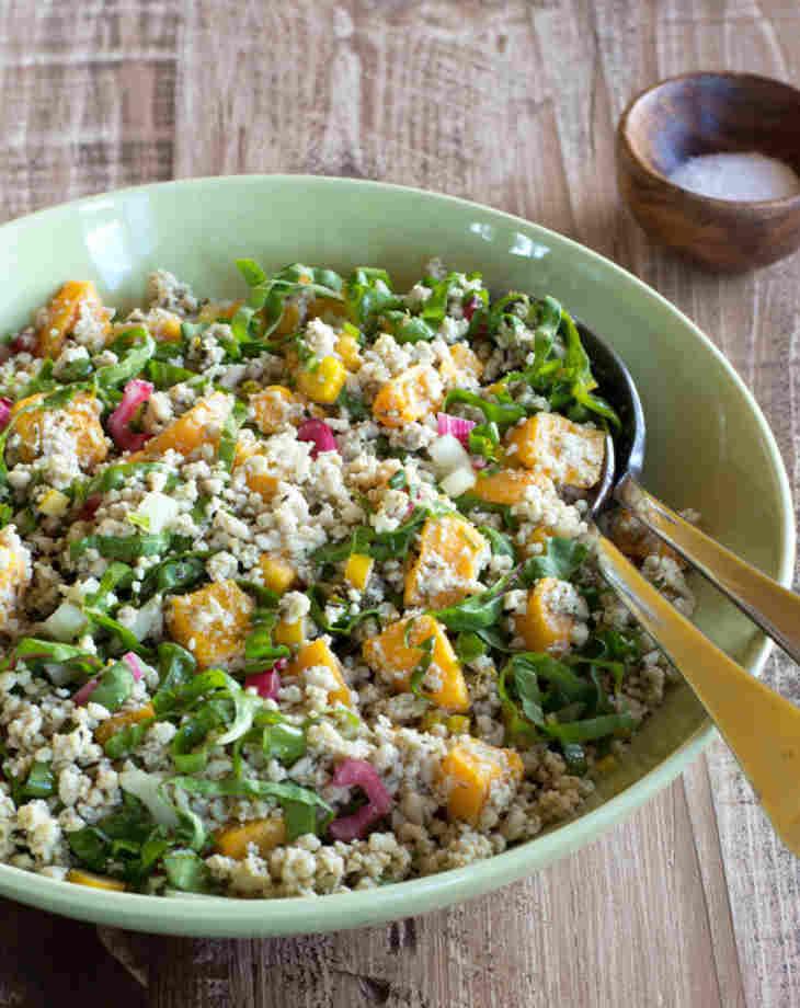 Ketogenic Warm Chicken Salad