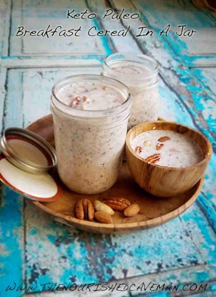 Keto Paleo Breakfast Cereal In A Jar
