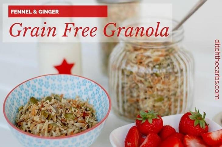 Fennel And Ginger Grain Free Granola