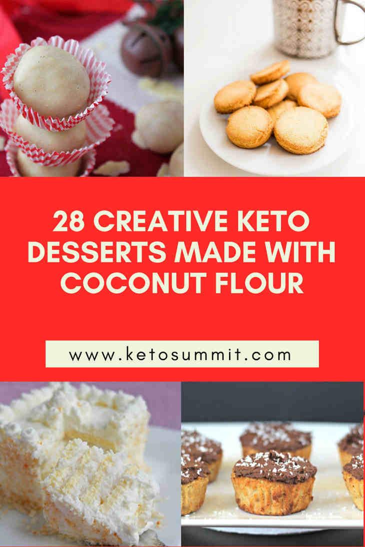 28 Creative Keto Desserts Made With Coconut Flour https://ketosummit.com/keto-desserts-coconut-flour