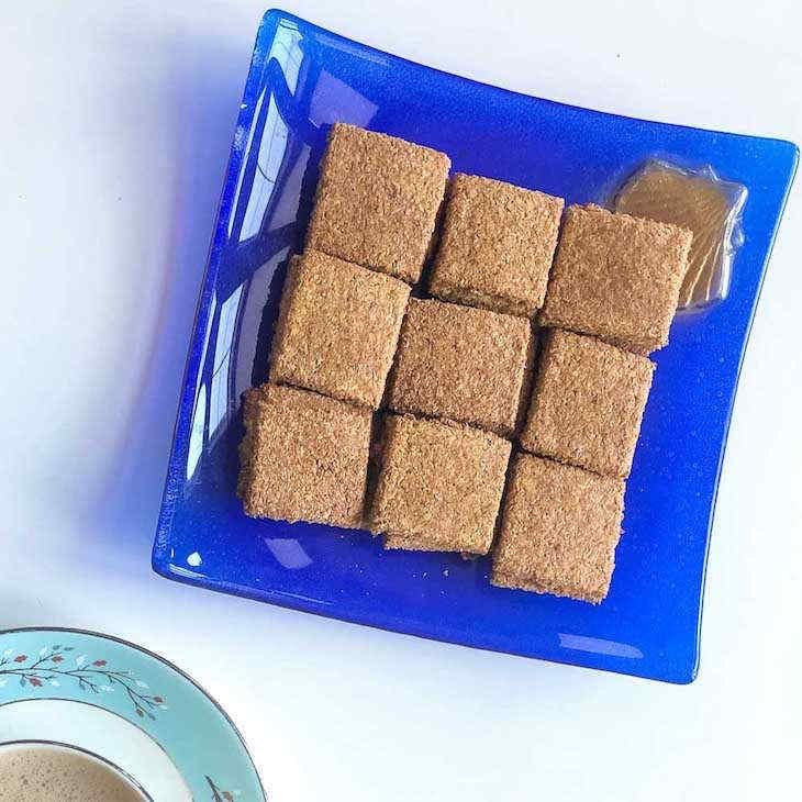 Keto Italian Flaxseed Crackers