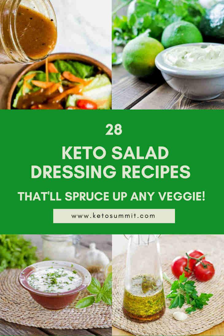 28 Keto Salad Dressing Recipes That'll Spruce Up Any Veggie! https://ketosummit.com/keto-salad-dressing-recipes