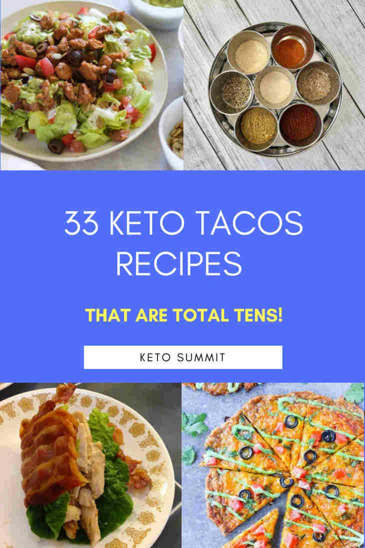 33 Keto Tacos Recipes That Are Total Tens! https://ketosummit.com/keto-tacos-recipes