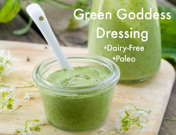 Low Carb Green Goddess Dressing