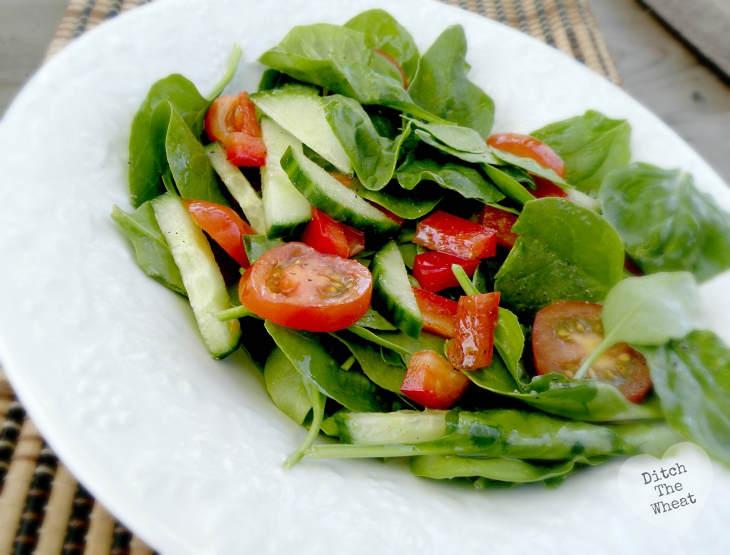 Simple Keto Salad Dressing