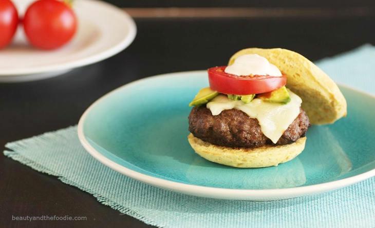 Taco Burgers On Paleo Burger Buns