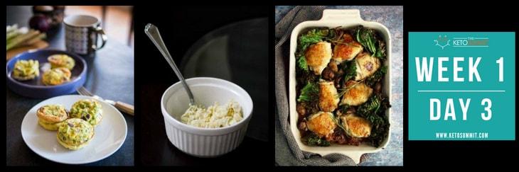 28-Day Keto Diet Meal Plan - Week 1 Day 3-min