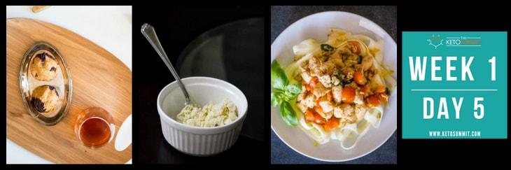 28-Day Keto Diet Meal Plan - Week 1 Day 5-min