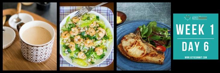 28-Day Keto Diet Meal Plan - Week 1 Day 6-min