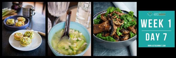 28-Day Keto Diet Meal Plan - Week 1 Day 7-min