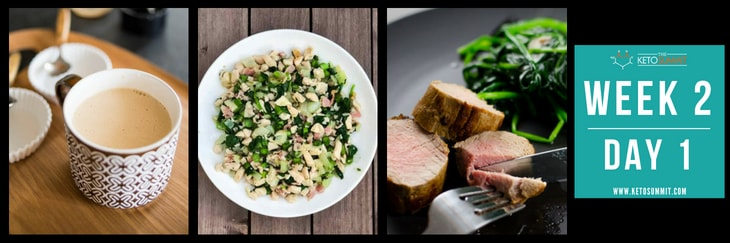 28-Day Keto Diet Meal Plan - Week 2 Day 1-min