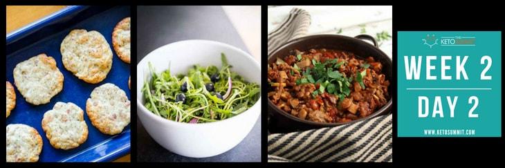 28-Day Keto Diet Meal Plan - Week 2 Day 2-min