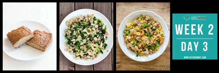 28-Day Keto Diet Meal Plan - Week 2 Day 3-min