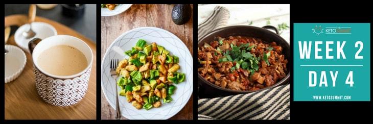 28-Day Keto Diet Meal Plan - Week 2 Day 4-min
