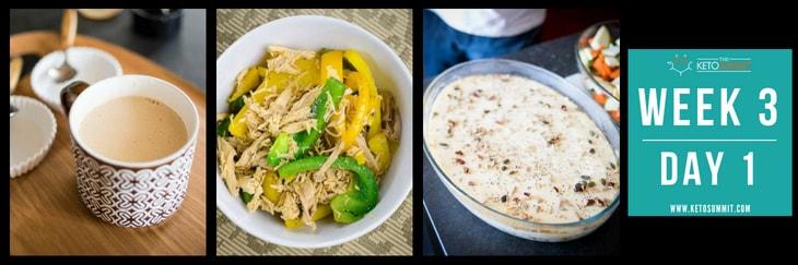 28-Day Keto Diet Meal Plan - Week 3 Day 1-min