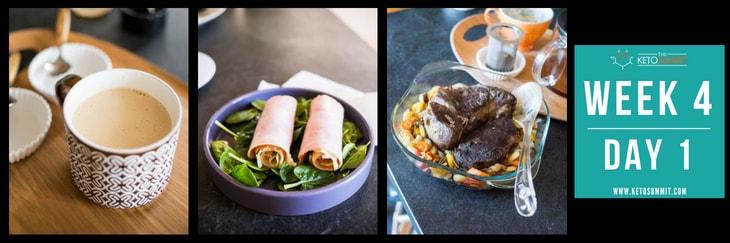 28-Day Keto Diet Meal Plan - Week 4 Day 1-min