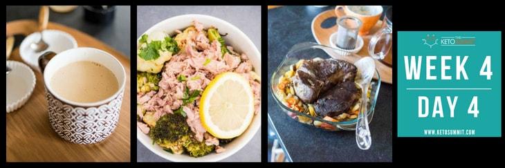 28-Day Keto Diet Meal Plan - Week 4 Day 4-min