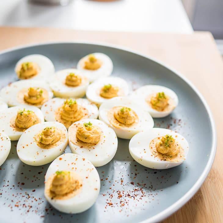 Basic Keto Deviled Eggs