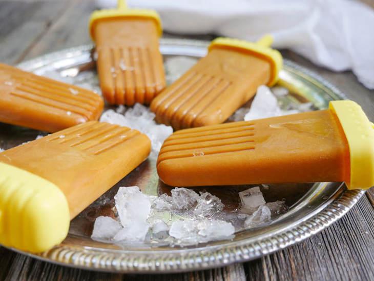 Golden Milk Popsicles