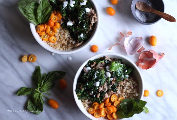 Cauliflower Rice Buddha Bowls