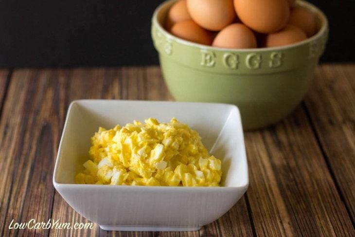 High Fat Low Carb Egg Salad