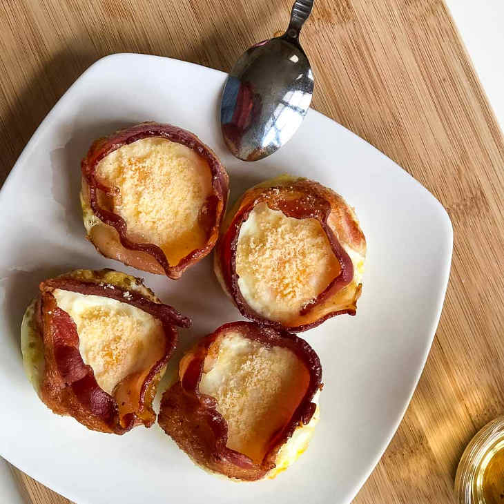 Keto Bacon Egg Muffins Recipe [Dairy-Free] #keto https://ketosummit.com/keto-bacon-egg-muffins-recipe