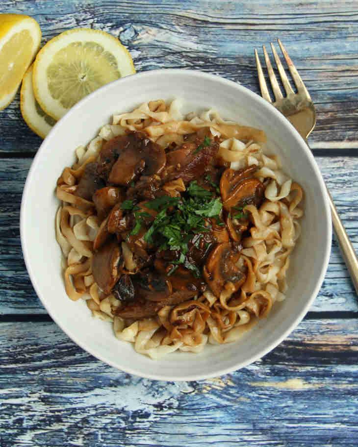 Keto Beef Stroganoff Recipe #keto https://ketosummit.com/keto-beef-stroganoff-recipe