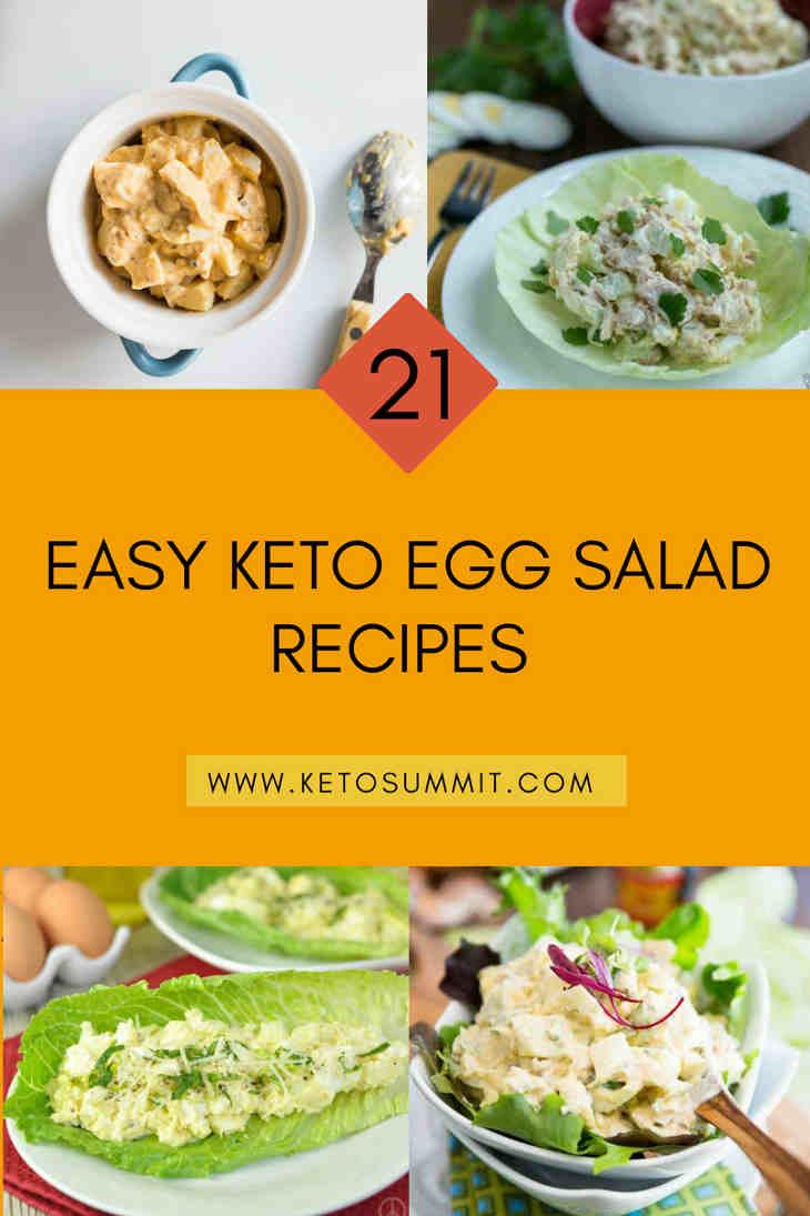 21 Easy Keto Egg Salad Recipes https://ketosummit.com/keto-egg-salad-recipes