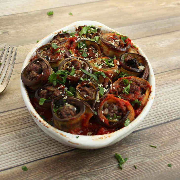 Keto Eggplant and Beef Casserole Recipe #keto https://ketosummit.com/keto-eggplant-and-beef-casserole-recipe