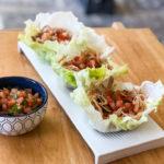 Keto Slow Cooker Kalua Pork Recipe with Lettuce Wraps #keto https://ketosummit.com/keto-slow-cooker-kalua-pork-recipe
