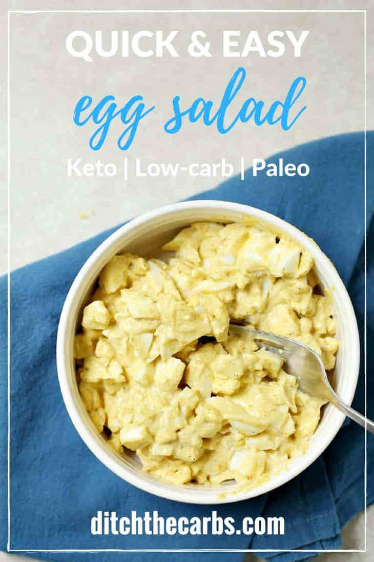 Low Carb Egg Salad