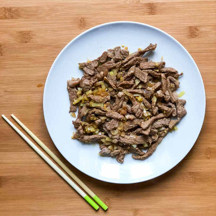 Keto Mongolian Beef Recipe #keto https://ketosummit.com/keto-mongolian-beef-recipe