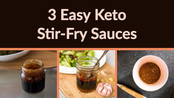 3 Deliciously Easy Keto Stir-Fry Sauce Recipes #keto https://ketosummit.com/keto-stir-fry-sauce