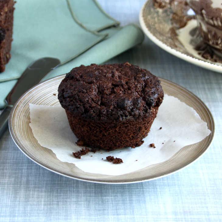 Keto Breakfast Brownie Muffins Recipe #keto https://ketosummit.com/keto-breakfast-brownie-muffins-recipe