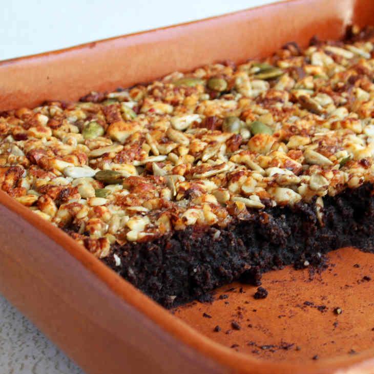 Keto Granola Brownies Recipe #keto https://ketosummit.com/keto-granola-brownies-recipe