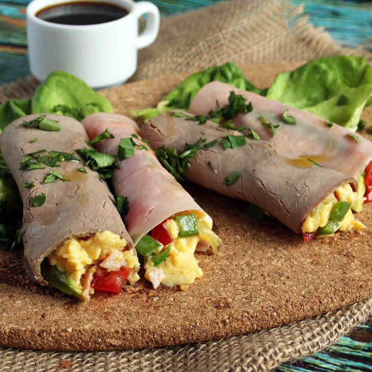 Mini Keto Breakfast Burrito Wraps Recipe #keto https://ketosummit.com/keto-breakfast-burrito-wraps-recipe