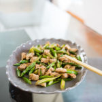 Keto Chinese Asparagus Chicken Stir-Fry Recipe #keto https://ketosummit.com/keto-chinese-asparagus-chicken-stirfry-recipe