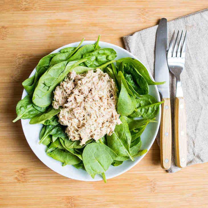 5-Minute Keto Curried Tuna Salad
