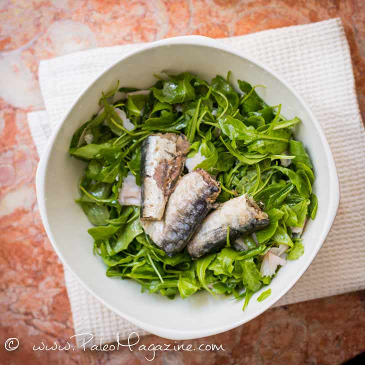 Easy Sardines Salad Recipe [Paleo, Keto, AIP]