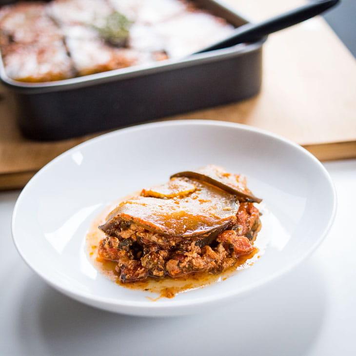 Keto Eggplant Lasagna #keto https://ketosummit.com/keto-eggplant-lasagna